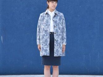 camouflage jacquard bansyuori coat   迷彩ジャガードコートの画像