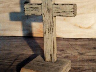 クロス アクセサリースタンド(オリーブ)の画像