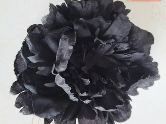 ピオニーブラックM ヘッドドレスの画像