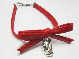 狐面 RIBBON CHORKER(赤)の画像