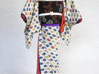 「笹りんどう」粋coolこべべ /リメイク着物の画像