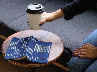 藍染ブックカバー(柄選択)の画像