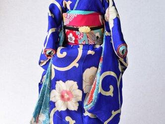 「初春」舞妓こべべ /リメイク着物の画像