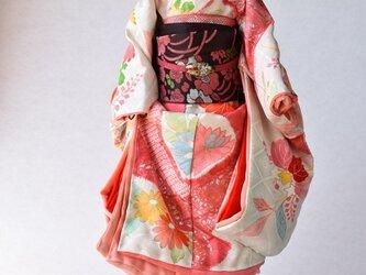 「春花」舞妓こべべ /リメイク着物の画像