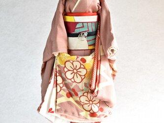 「梅文」舞妓こべべ /リメイク着物の画像