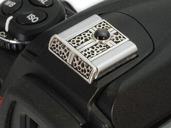 カメラシューカバーNikon用・クロスとブラックスターの画像
