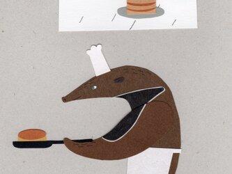 「パンケーキ!パンケーキ!」ポストカード 2枚セットの画像