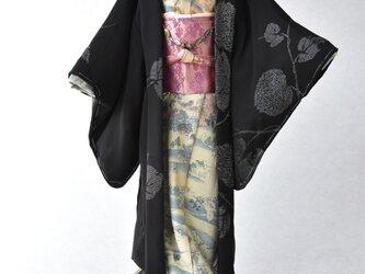 「黒紋付(羽織)」夢こべべ /リメイク着物の画像