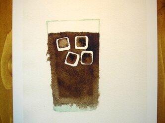 ゆる絵 ice coffee A4の画像