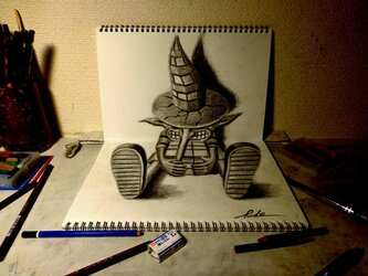 3D DRAWING - Wandererの画像