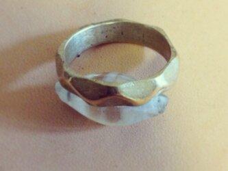 真鍮の指輪(送料無料)の画像