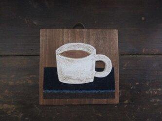 コーヒー かべかざりの画像