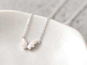 Petit 蝶 ネックレス シルバー925の画像