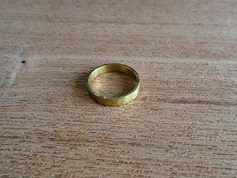 plane ring 真鍮製の画像