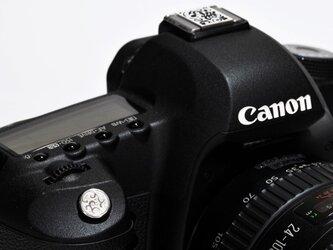 カメラレリーズボタン・シルバー製 RB-006の画像