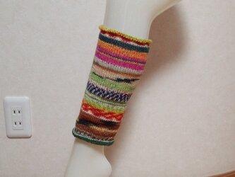 OPAL毛糸 レッグウォーマーの画像