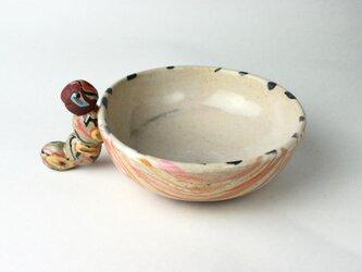 虫っ子のボウル /可愛い子供食器 /陶器 /陶芸 /キッズ食器 /cute ceramicの画像