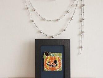 ハロウィンインテリア モザイク・ジャックオーランタンの画像