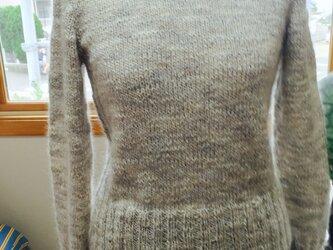 ふんわりセーターの画像
