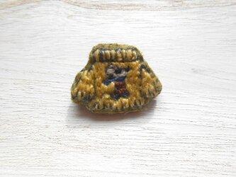 ねずみちゃんセーターブローチの画像