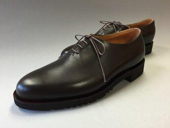 紳士革靴・ホールカットの画像