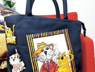 [販売済] Modern Cat From60 TOTE BAGの画像