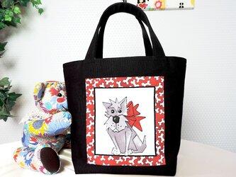 [販売済] OSANPO-KEN RED From60 TOTE BAGの画像