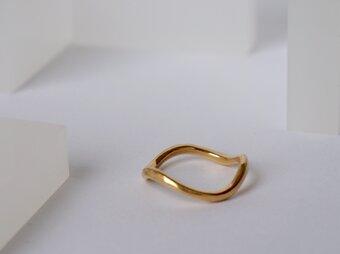 flux 波ring silverの画像
