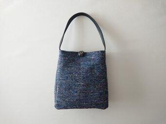 sakiori onehandle shoulder bag [blue]の画像