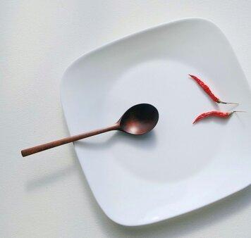 #135 山桜の木のシチュースプーン(type-B)の画像