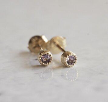 Birth stone earrings {EP033K10}の画像