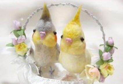 手作りの小鳥 hato*hana