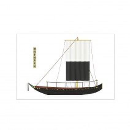niji~fune 船橋芳琇の  日本画、和船イラスト