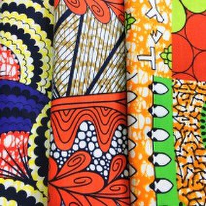 アフリカの布パーニュ muku