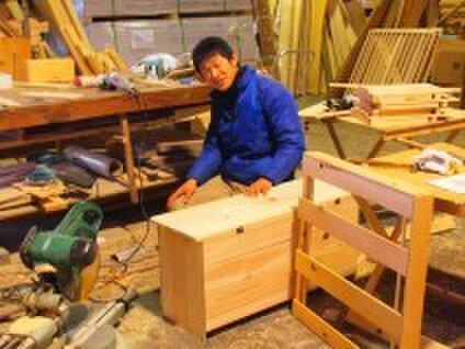四万十ヒノキの家具屋さん