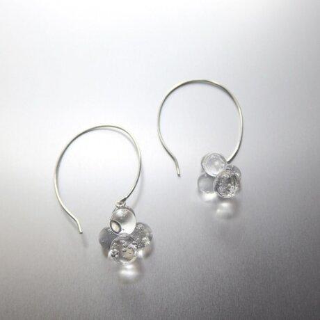 Pompon Bubble Earring / SV 925の画像