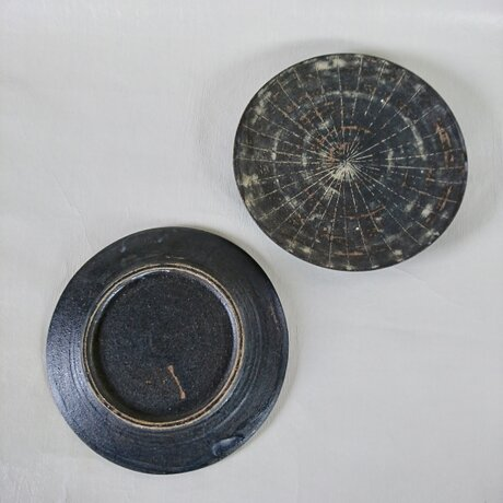 黒象嵌皿の画像