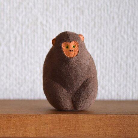 置物 サルの画像