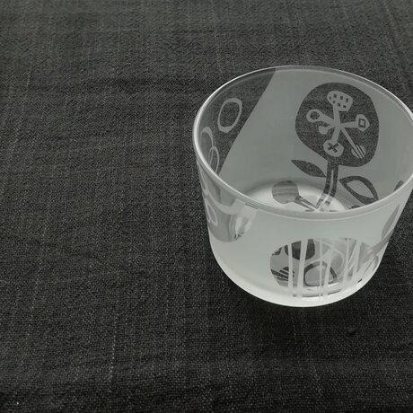 ガラスの小鉢 野の花の画像