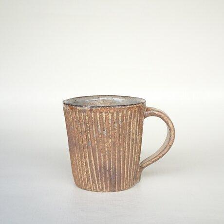 炭化鎬手マグカップ IIの画像