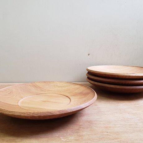 くるみリム皿の画像