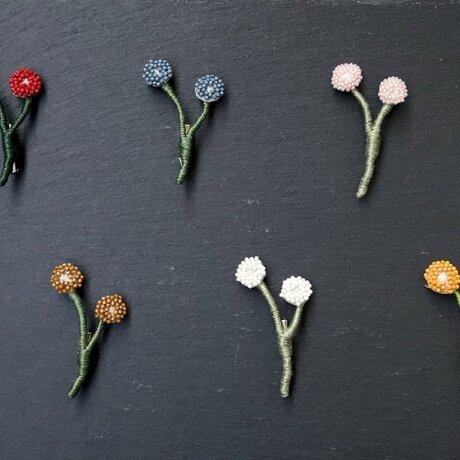 ハナハナ -ちいさなお花のブローチ-の画像