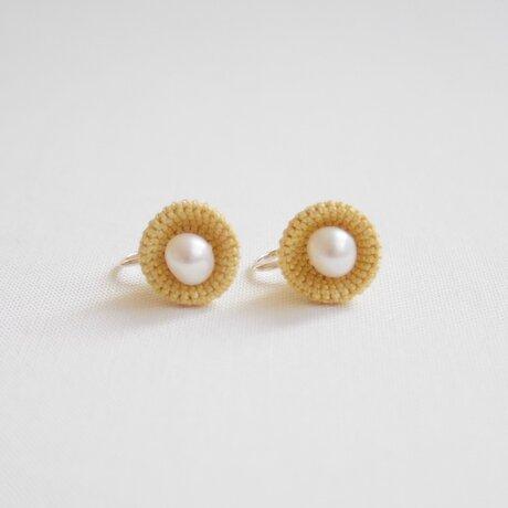 kobana 01 / yellow / earringの画像