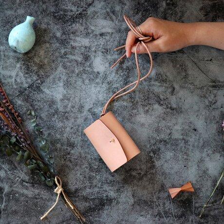 クラシコ(栃木レザー)_ベージュ◆外装◆あかちゃん財布◆三つ折りの画像