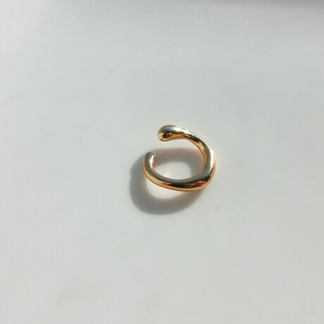 ear cuff mini -gold-の画像