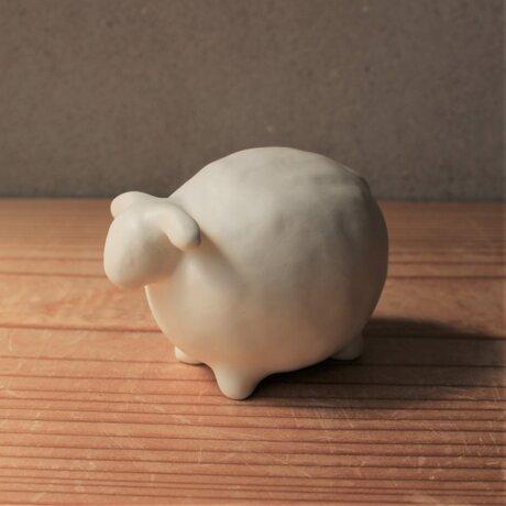 羊 雲シリーズ オブジェ 陶の画像