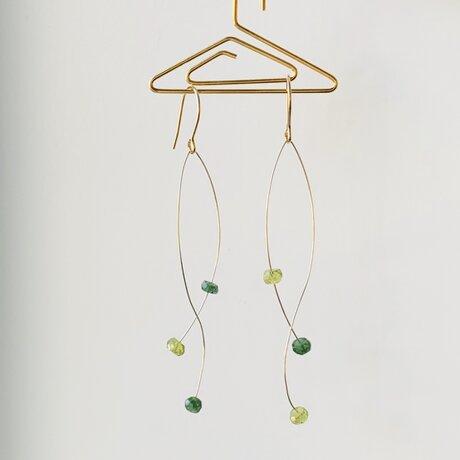 〔14kgf 〕RYUSEN ・゜゚ *   green gradationの画像
