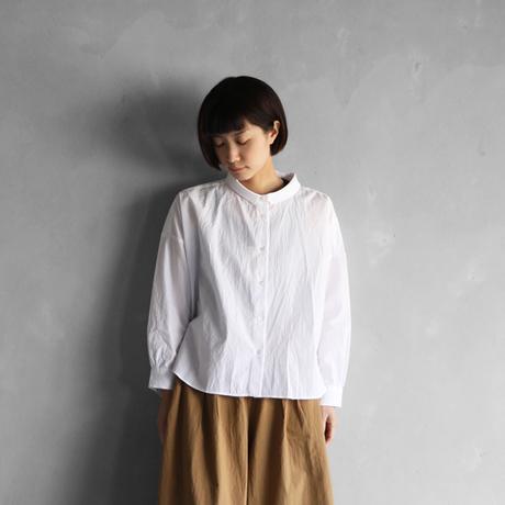 コードレーンワイドブラウス(白)【レディス】の画像