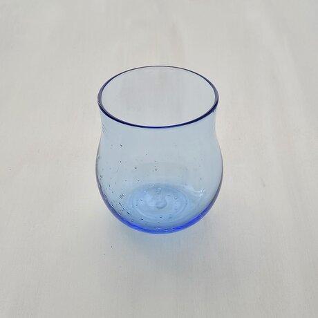 あわわグラス たるん 青 2の画像