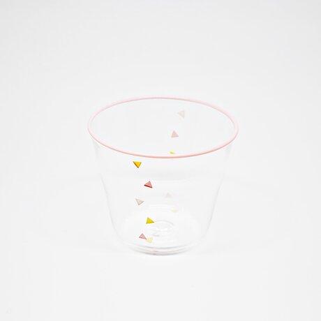 Confetti-グラス(ペールピンク)の画像